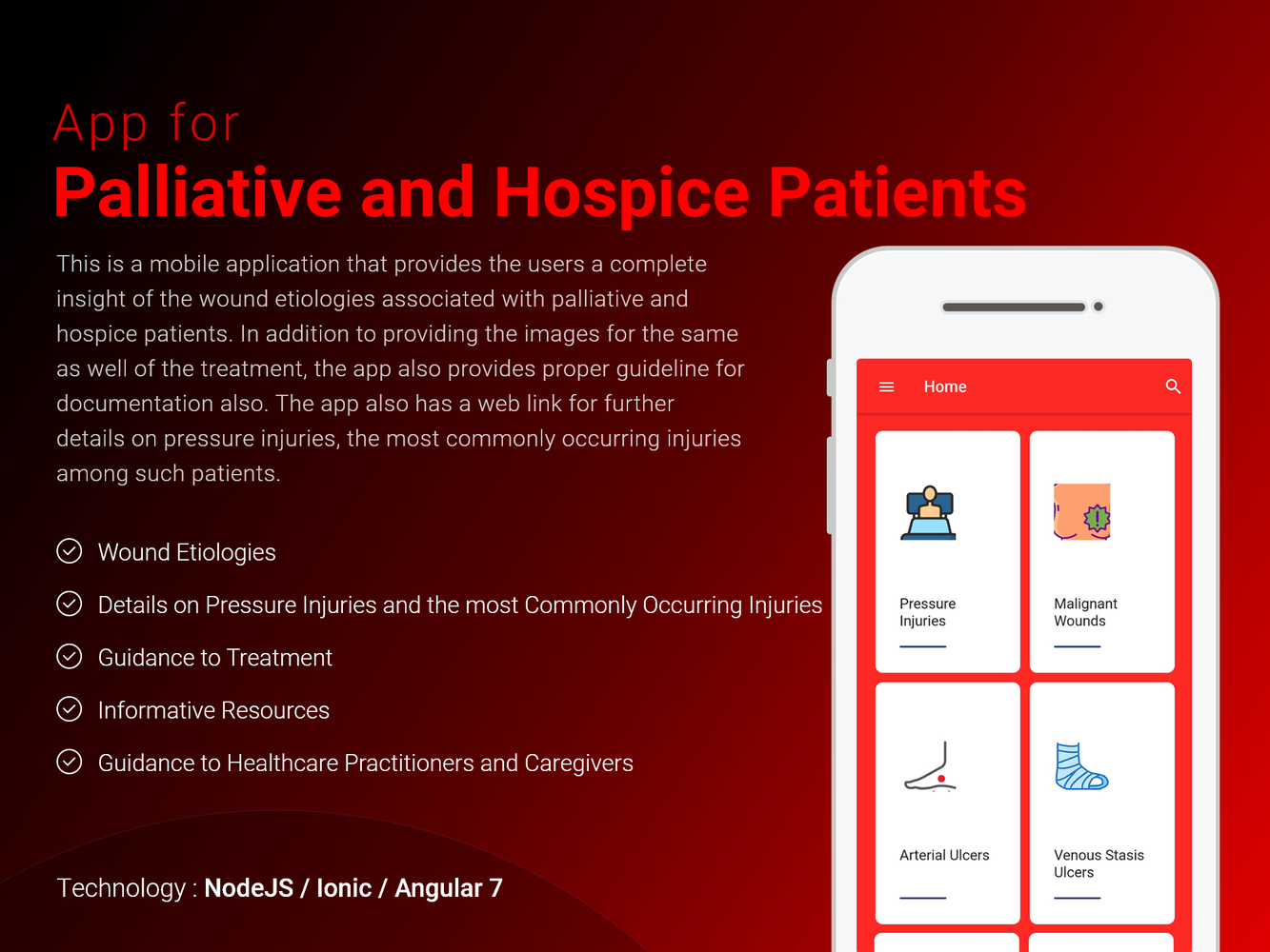 App for Palliative and Hospice Patients