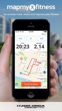 Map My Fitness - GPS Workout Trainer for Fitness, Step and Activity Tracking