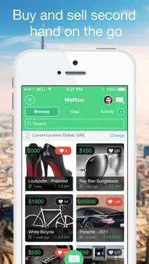 Melltoo Social Classifieds: Chat to buy & sell your used things