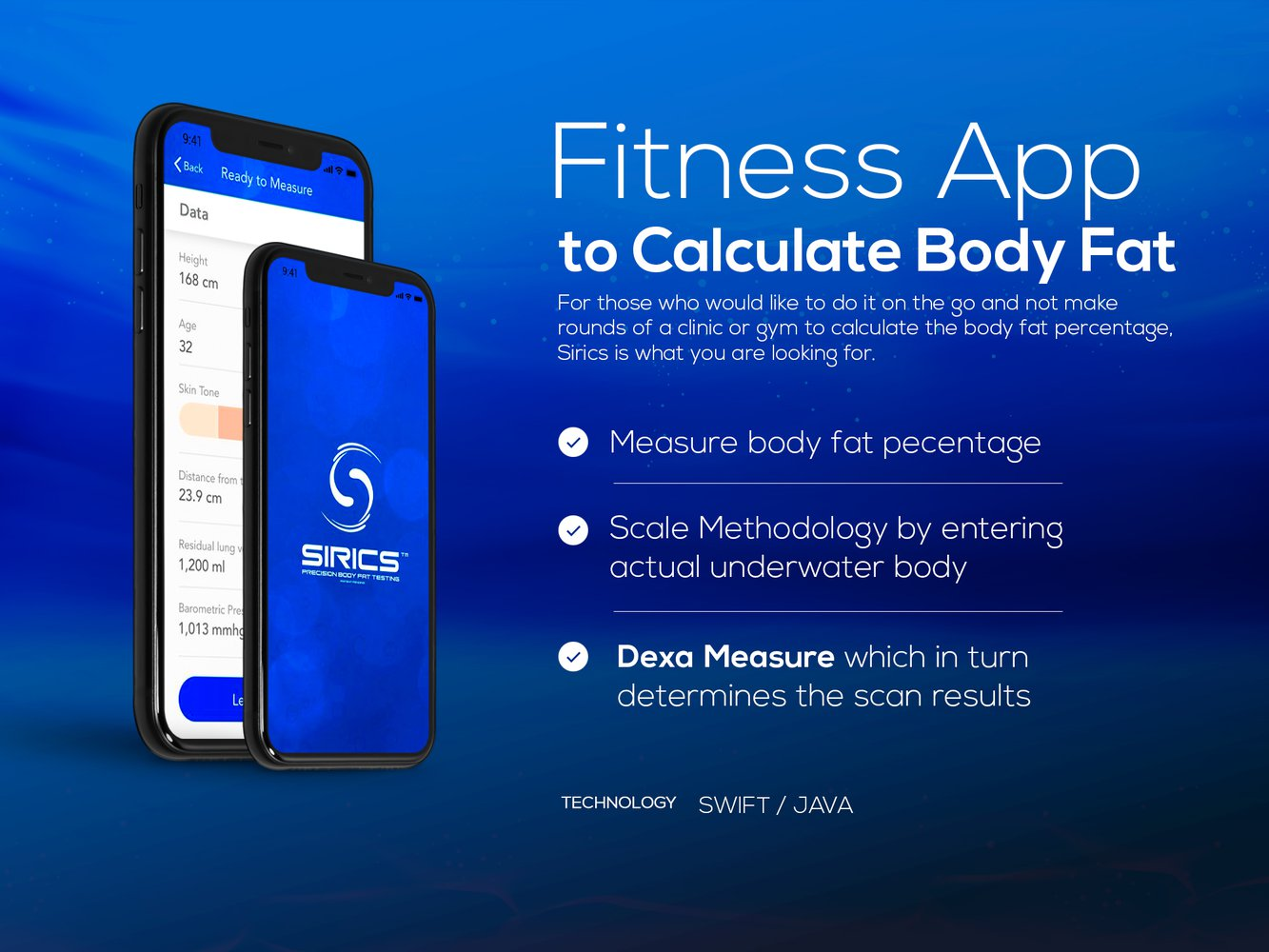 Fitness App to Calculate Body Fat