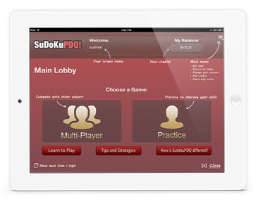 SudokuPDQ - Casino Style Gaming Application